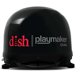 DISH Playmaker Dual - Outdoor TV - Green Valley Lake, CA - Gene International - DISH Authorized Retailer